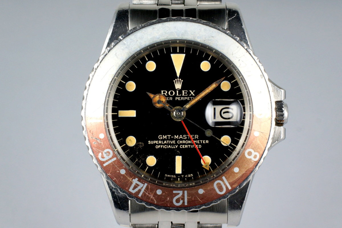 1965 Rolex GMT 1675 Glossy Gilt Dial photo, #0