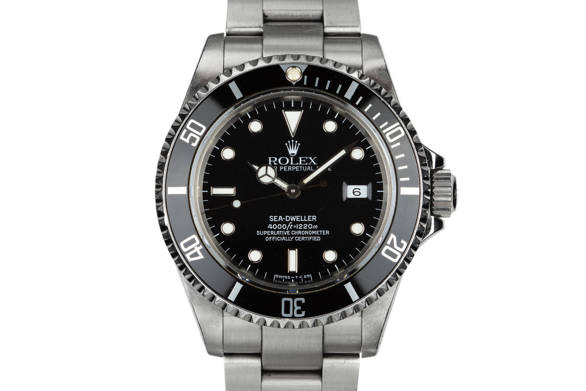 1990 Rolex Sea-Dweller 16600 photo, #0