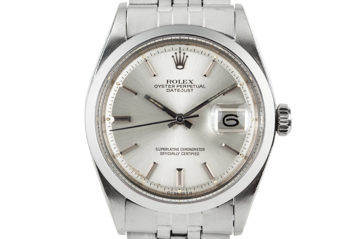 1970 Rolex DateJust 1600 with Silver Sigma Dial photo, #0