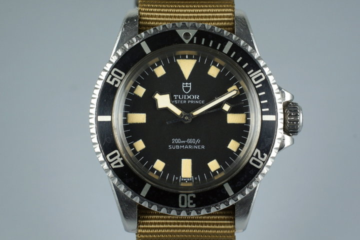 1973 Tudor Submariner 7016/0 Snowflake photo