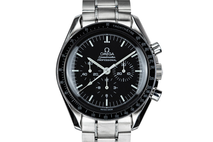 2000 Omega Galaxy Express 999 Speedmaster Professional 3571.50 with Card photo