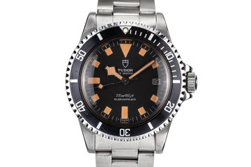 1980 Tudor Snowflake Submariner 9411/0 Black Dial photo
