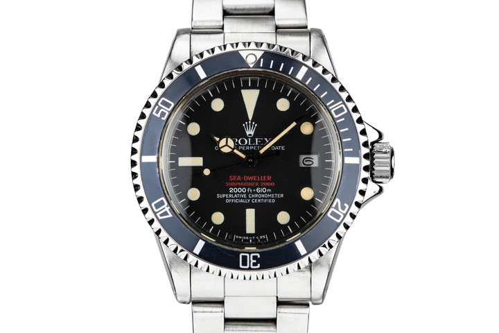 1975 Rolex Double Red Sea-Dweller 1665 MK IV Dial photo