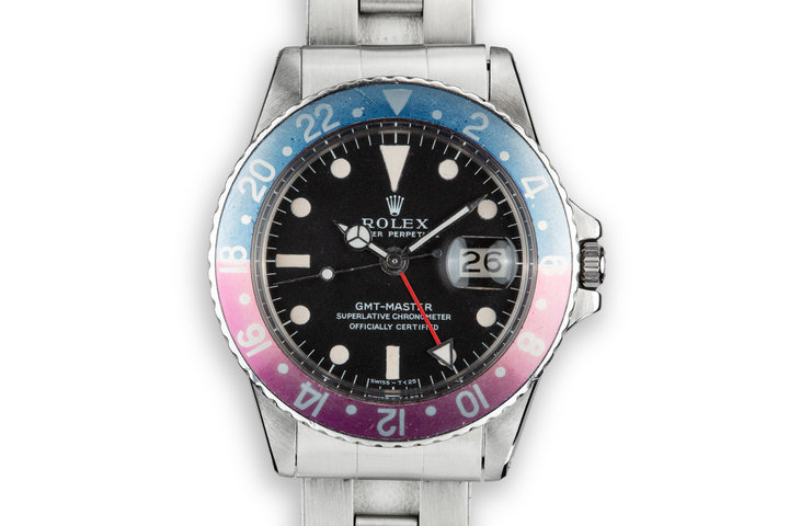 1967 Rolex GMT-Master 1675 with Fuchsia Insert photo