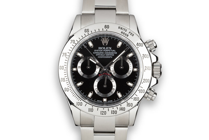 2010 Rolex Daytona 116520 Black Dial with Box and Booklets photo