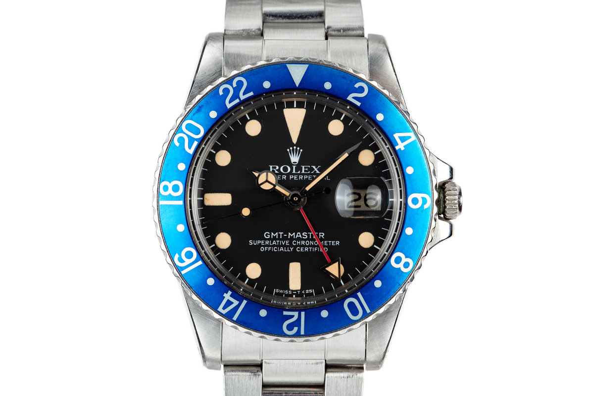"1979 Rolex GMT-Master 1675 ""Blueberry"" photo, #0"