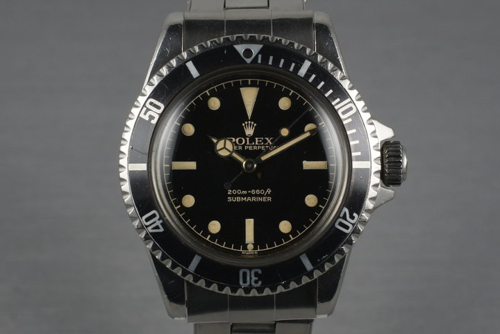1961 Rolex Submariner 5512 with Gilt Chapter Ring Exclamation Dial photo