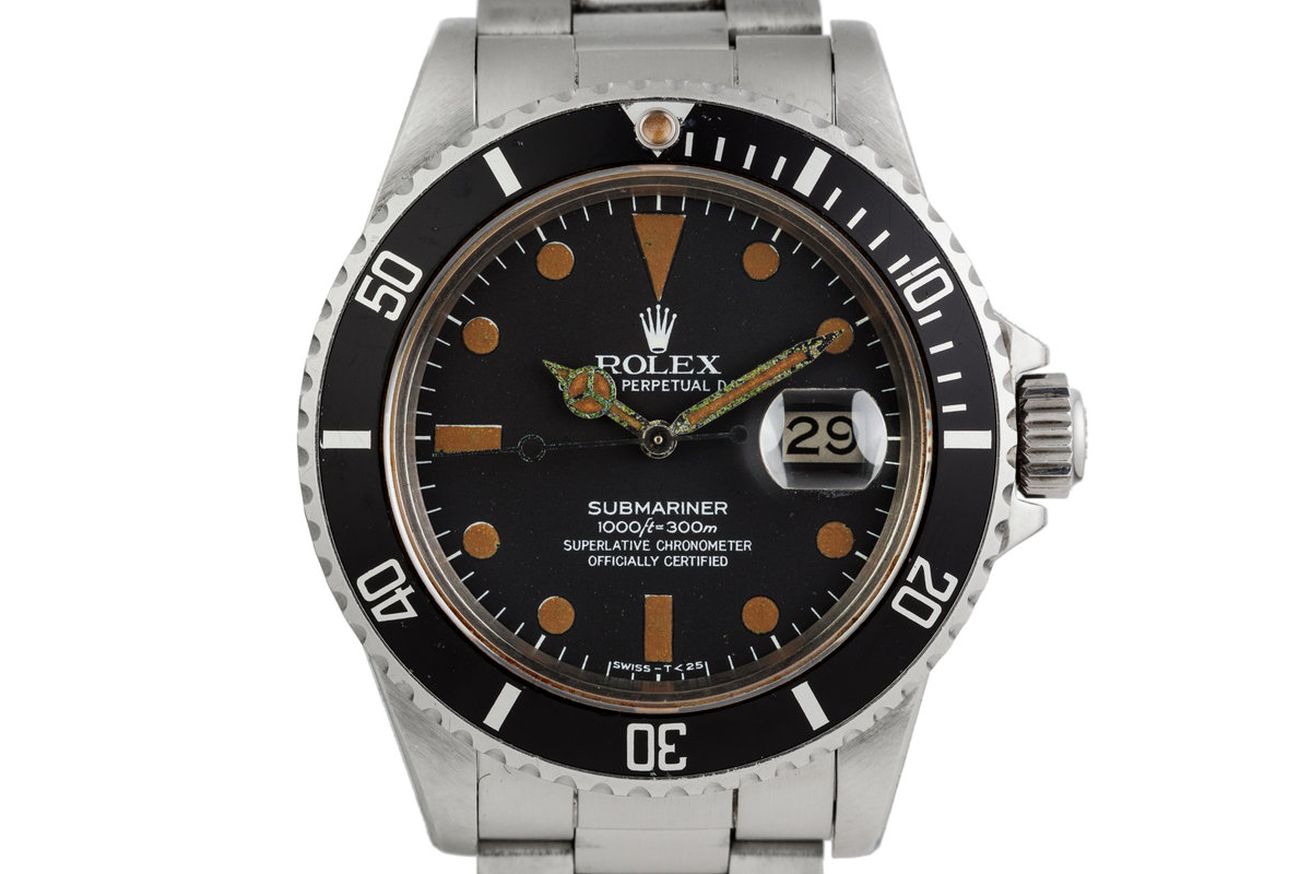 1980 Rolex Submariner 16800 with Matte Dial photo, #0