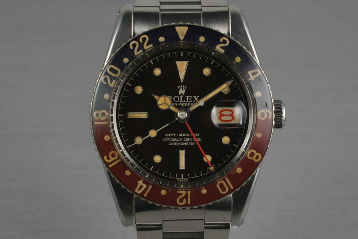 1958 Rolex GMT 6542 with Bakelite Bezel photo