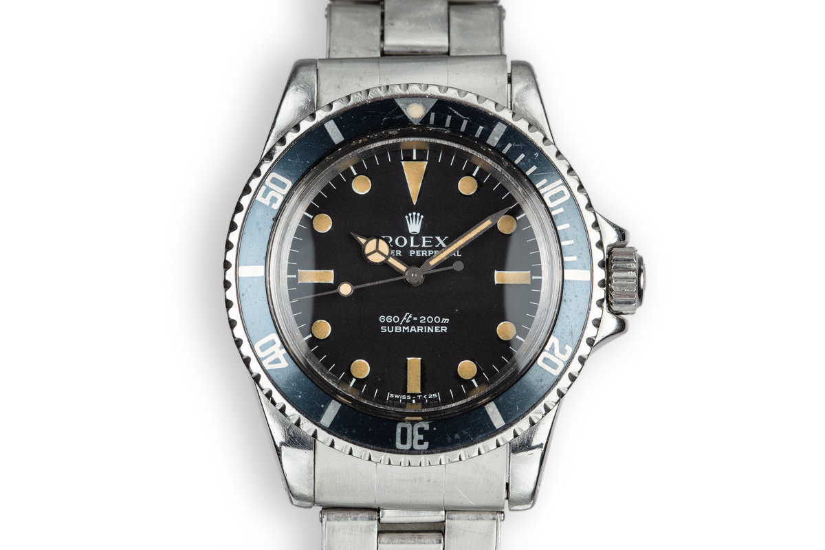 1973 Rolex Submariner 5513 Serif Dial photo, #0